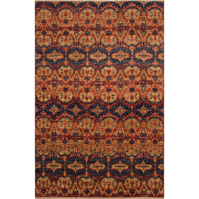 One-of-a-Kind Millican Fine Oushak Mariana Hand-Knotted Rusty Red Area Rug