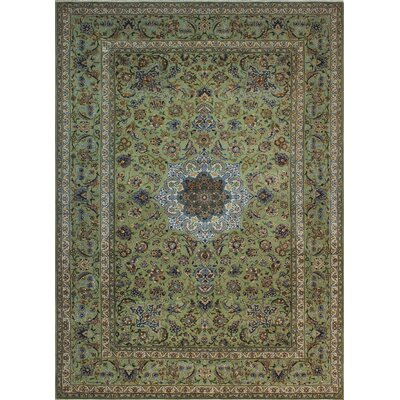 One-of-a-Kind Millikan Distressed Matilda Hand-Knotted Wool Ivory Area Rug