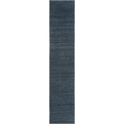 One-of-a-Kind Milliman Kilim Willow Hand-Woven Wool Gray Area Rug