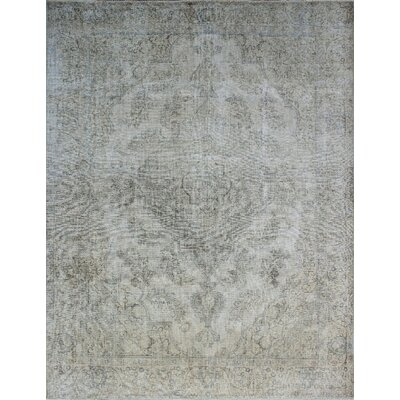 One-of-a-Kind Millikan Distressed OD Georgia�Hand-Knotted Wool Ivory Area Rug