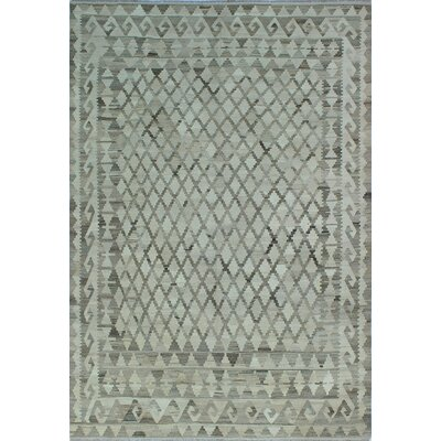One-of-a-Kind Milliman Kilim Zara�Hand-Woven Wool Ivory Area Rug
