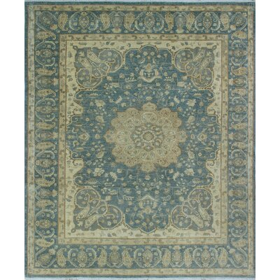One-of-a-Kind Gorman Fine Chobi Carol Hand-Knotted Wool Gray Area Rug