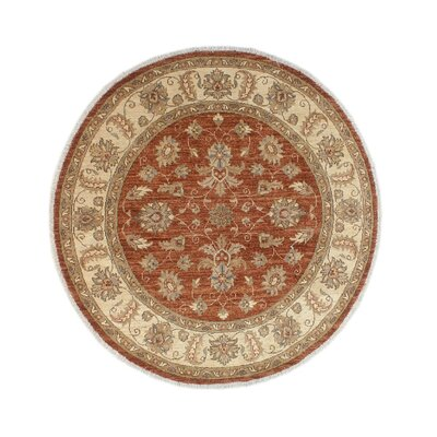 One-of-a-Kind Gorman Fine Chobi Melissa Hand-Knotted Wool Rust Area Rug