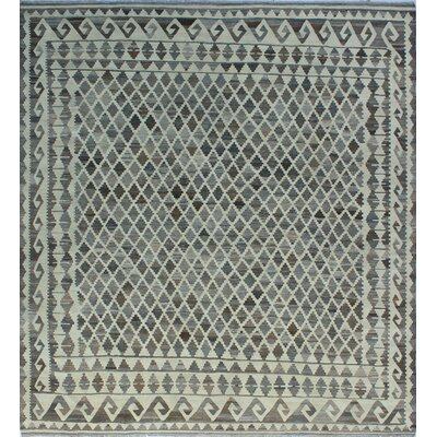 One-of-a-Kind Milliman Kilim Maria�Hand-Woven Wool Ivory Area Rug