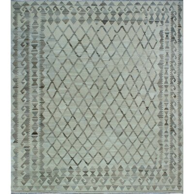 One-of-a-Kind Milliman Kilim Leah�Hand-Woven Wool Ivory Area Rug