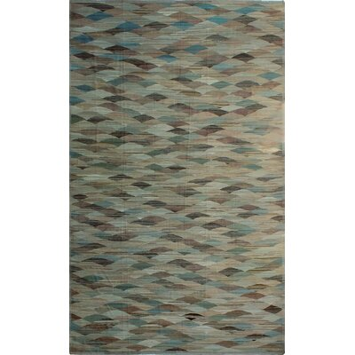One-of-a-Kind Milliman Kilim Mollie�Hand-Woven Wool Beige Area Rug