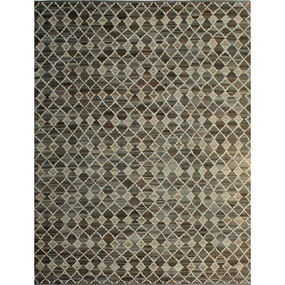 One-of-a-Kind Milliman Kilim Heidi Hand-Woven Wool Ivory Area Rug