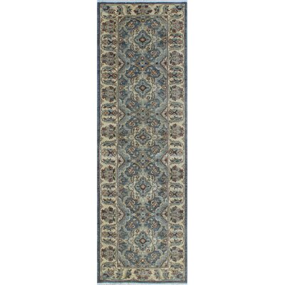 One-of-a-Kind Gorman Fine Chobi Faith Hand-Knotted Wool Gray Area Rug
