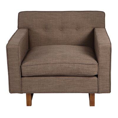 Dinger Club Chair Body Fabric: Tundra Twill