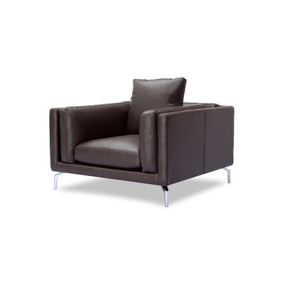 Tia Loft Armchair Body Fabric: Bolivarian Aniline