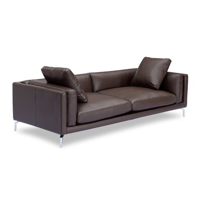 Tia Loft Leather Sofa Body Fabric: Bolivarian Aniline