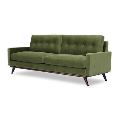 Dingler Sofa Body Fabric: Fern Velvet