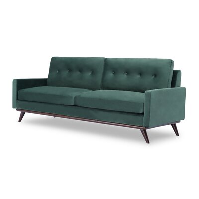 Dingler Sofa Body Fabric: Juniper Velvet