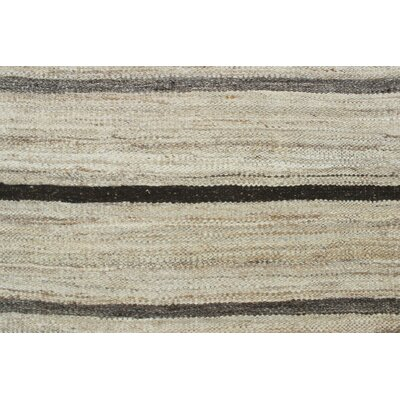 One-of-a-Kind Milliman Kilim Brooke�Hand-Woven Wool Ivory Area Rug