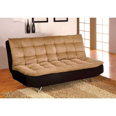 Ankiewicz Convertible Sofa Upholstery: Tan/Black