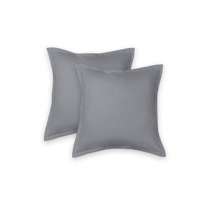 Eileen West 100% Cotton Sham Color: Gray
