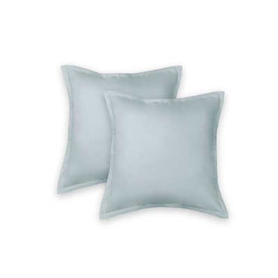 Eileen West 100% Cotton Sham Color: Seafoam