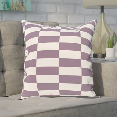 Bo�tes Stair Stepping Stripes Print Outdoor Pillow Color: Larkspur, Size: 20