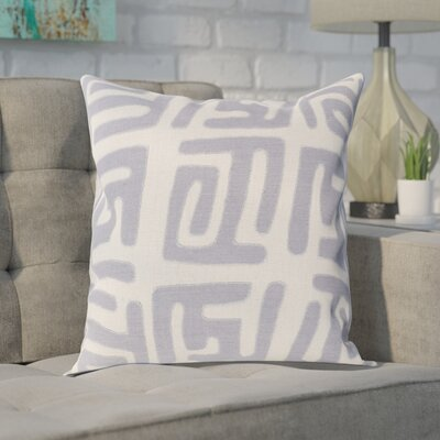 Bomaderry Throw Pillow Cover Size: 22 H x 22 W x 0.25 D, Color: BlueGray