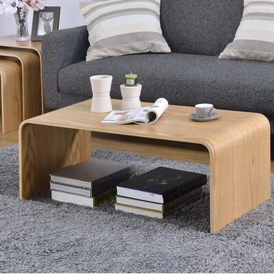 Dreshertown Bentwood Coffee Table Color: Oak