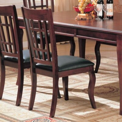 Kranzo Wooden Upholstered Dining Chair