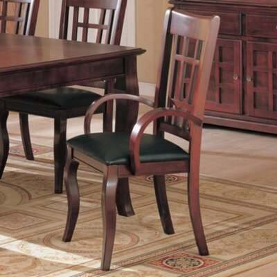Ovard Sturdy Wood Upholstered Dining Chair