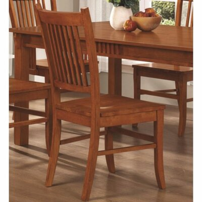 Kangas Slat Back Mission Solid Wood Dining Chair