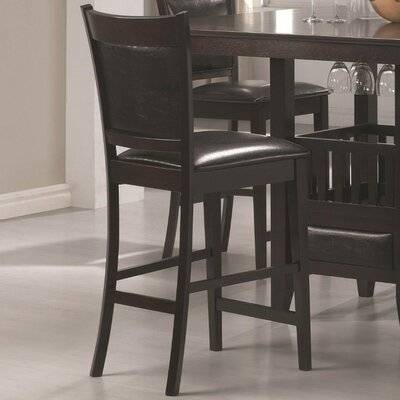 Marchant Vinyl Padded Seat and Back Bar Stool