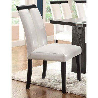 Altenpohl Wooden Upholstered Dining Chair