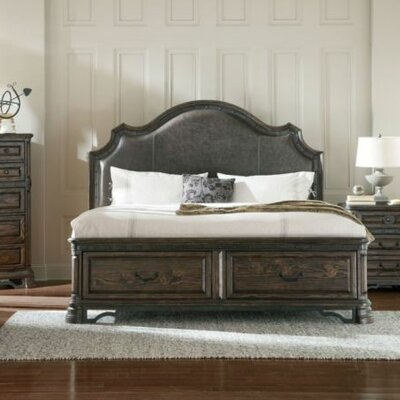 Vytis Upholstered Storage Panel Bed Size: Queen