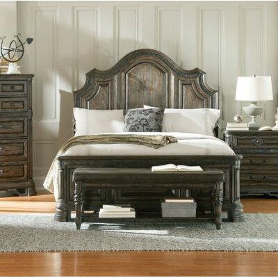 Vytis Upholstered Panel Bed Size: Queen
