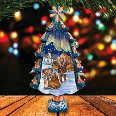 Fifield Northern Lights Tree Figurine B6B25BBE62684DD8BC6CD950D728FF80