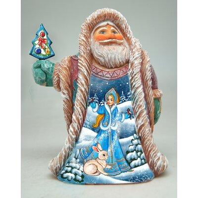 Fifield Snow Maiden Regal Santa Figurine 0AA8FB7AA9F34B3F81C1259895C1EDFC