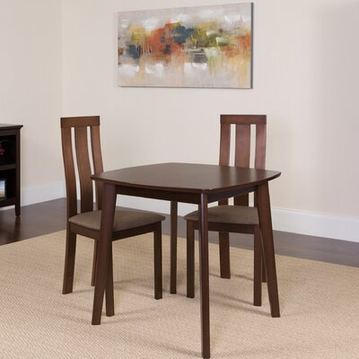 Hunsberger 5 Piece Dining Set Color: Espresso