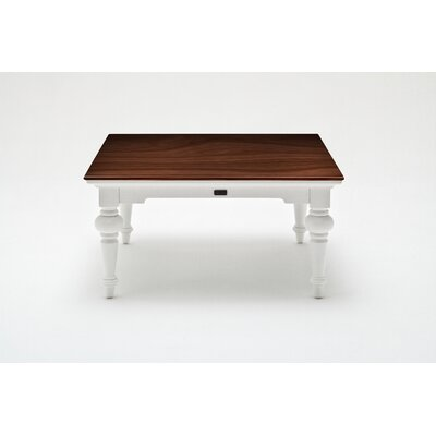 Winthrope Coffee Table Table Top Color: Dark Brown
