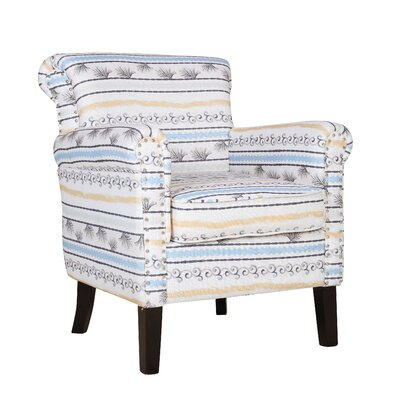 Michaud Accent Armchair Upholstery: Beige