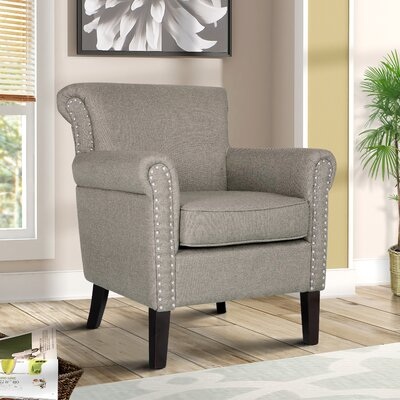 Michaud Accent Armchair Upholstery: Gray