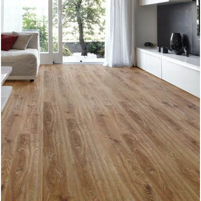 Lucerne 7 x 48 x 12mm Oak Laminate Flooring in Barley