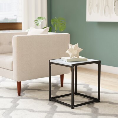 Andresen Modern End Table Color: Stone