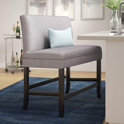 Cosima 28 Fabric Bar Stool Upholstery: Light Gray