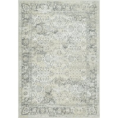 Fresco Beige/Taupe Area Rug Rug Size: Rectangle 53 x 77