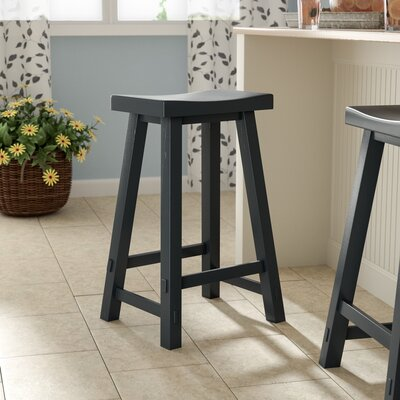 Marni 30 Bar Stool Color: Black