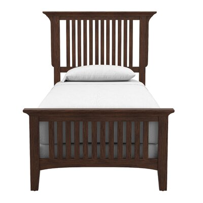 Moradian Modern Plateform Bed Size: Twin