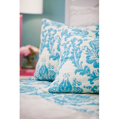 Damask Sham Size: King