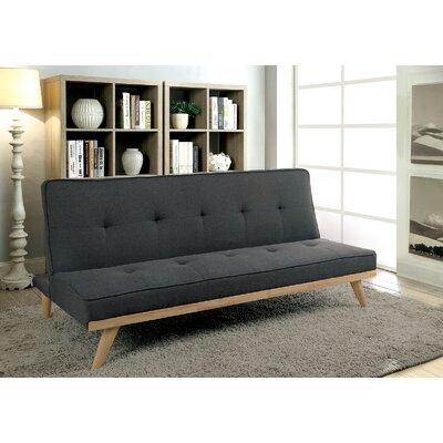 Eakin Convertible Sofa Upholstery: Gray