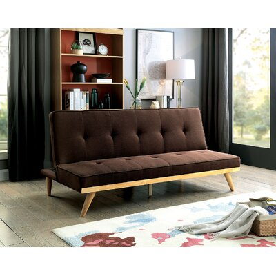 Eakin Convertible Sofa Upholstery: Brown