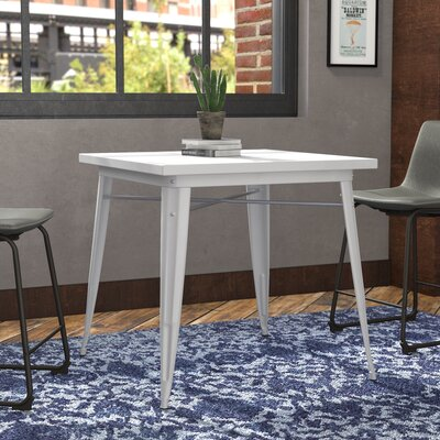 Halie Dining Table Finish: Glossy White