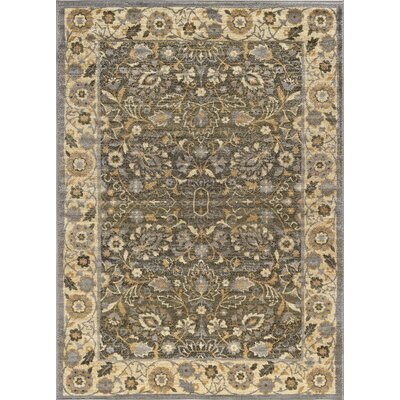Ramiro Traditional Oriental Beige Area Rug Rug Size: Rectangle 9 x 13