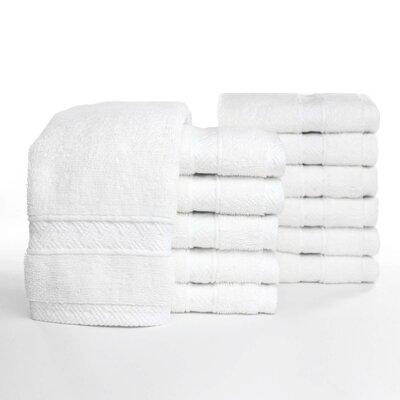 Jasso Basket Weave 100% Cotton Washcloth