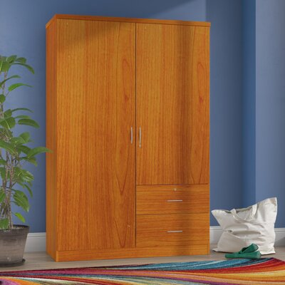 Casiodoro Armoire Finish: Distressed Light Cherry